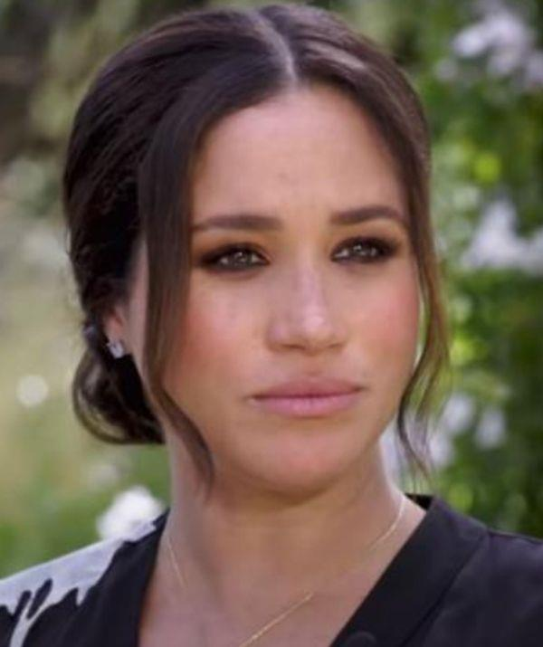 **Duchess of Sussex Meghan Markle**  <br><br> The hairstyle Meghan wore during her interview with Oprah also takes inspiration from TikTok. The middle part and loose strands framing her face calls to the Gen Z claim that middle parts are in and side parts are out.