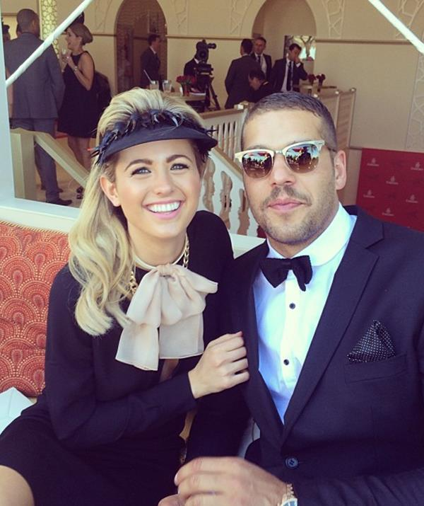 """The former Miss Universe Australia was known as Jesinta Campbell when Buddy Franklin got her number from a mutual friend in 2012. He texted her out of the blue and wasn't too successful at first, Jesinta telling the Australian Rules star that she """"wasn't dating"""" at the time."""