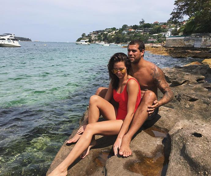 """The newlyweds honeymooned on the Gold Coast and in Byron Bay after deciding against going on a lavish overseas honeymoon. They spent time with Jesinta's parents on the Gold Coast, then joined up with friends in Byron Bay and """"just had fun"""".  <br><br> Jesinta told *Vogue* in 2017: *""""For us, just being in each other's company was all we needed. And it was bliss.""""*"""
