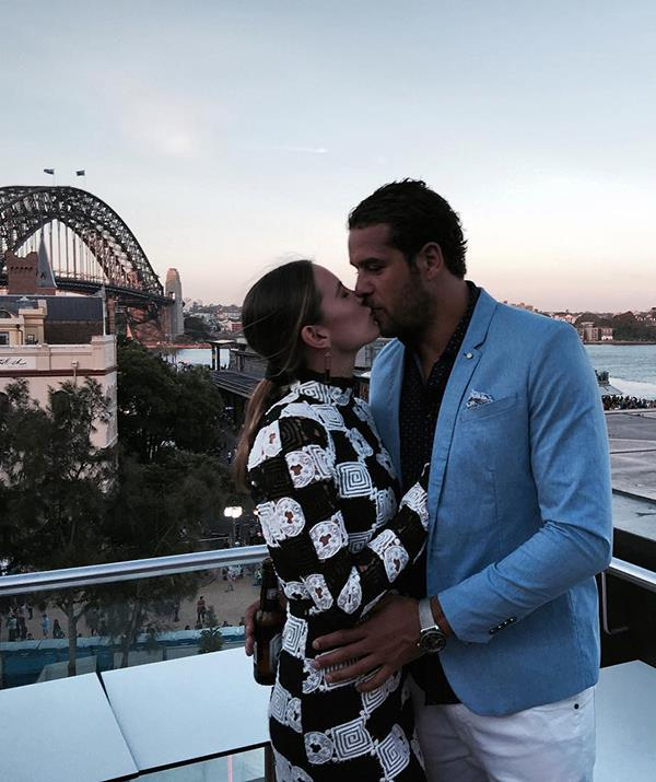 """In 2015, Buddy opened up about his mental health struggles and took a step back from his AFL career to seek support - and Jesinta stepped up to the plate. She was vocal in her support for her then-fiancé and urged other women to support the men in their lives who may be struggling with mental health issues.  <br><br> """"Look at what my fiancé's going through at he moment. He's going to be a better partner for me for being vulnerable, and standing up and saying that he's struggling,"""" she said at an *Australian Women's Weekly* event in September 2015."""
