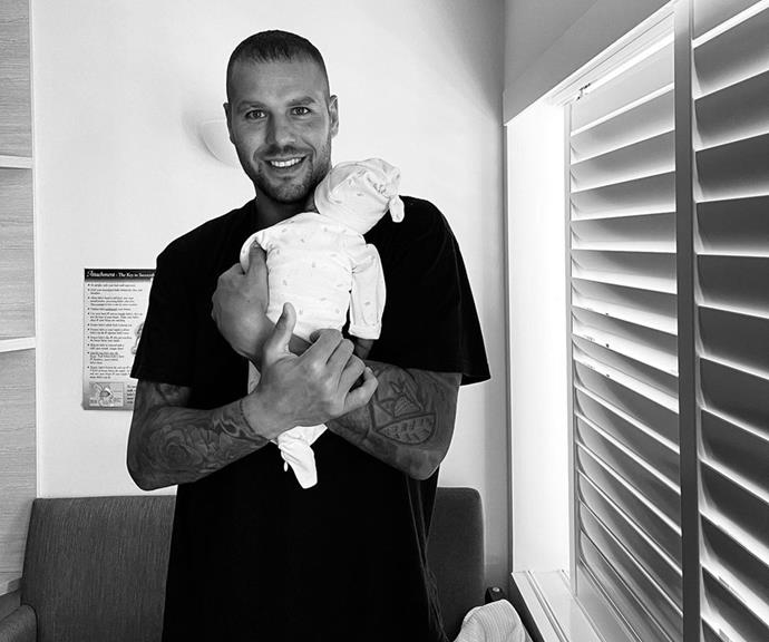 """It's a boy! [Baby Rocky Franklin arrived in March 2021](https://www.nowtolove.com.au/parenting/pregnancy-birth/jesinta-franklin-second-baby-66975