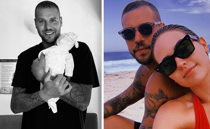 He rocks their world! Jesinta and Buddy welcomed their son Rocky in April.