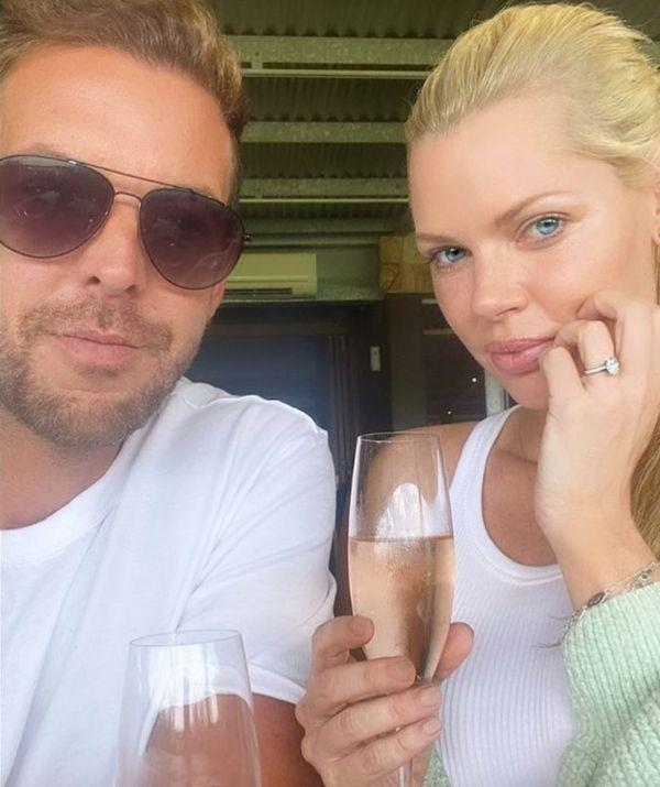 Sophie and her beau went on a post-engagement trip to The Hunter Valley.