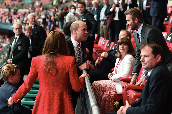 The family were also joined by several A-listers. Spot David Beckham and Ed Sheeran in the pics...