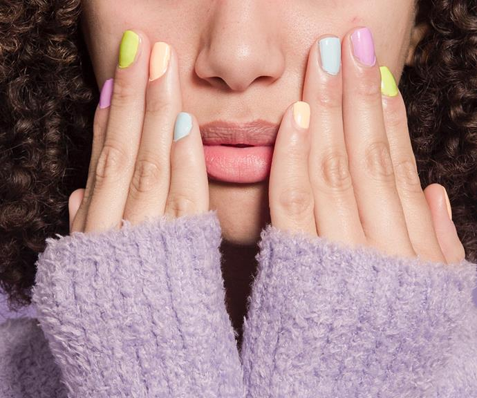 Shellac manicures are more durable than regular polish, and harder to remove.
