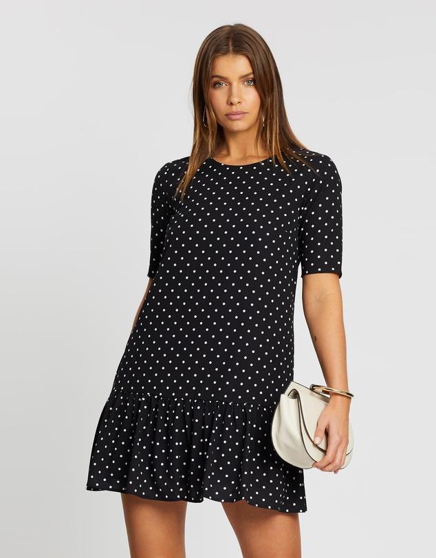 "ATMOS & HERE Saskia Polka Dot Dress, $69.99. **[Buy it online via The Iconic here](https://www.theiconic.com.au/saskia-polka-dot-dress-921289.html|target=""_blank""|rel=""nofollow"")**"