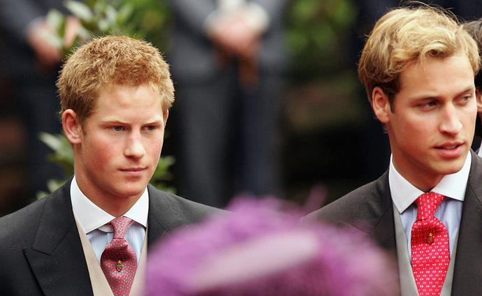 """Without their mother, Harry and William leaned on each other for support as they grew from boys into men. Though they weren't in the public eye as much in their teen years and early twenties, by all accounts the brothers were still close friends and spent plenty of time together.  <br><br> Harry went on to become something of a """"Party Prince"""" in his twenties, which is said to have been an issue between him and William, who had to take his royal duties more seriously as the second in line to his grandmother's throne."""
