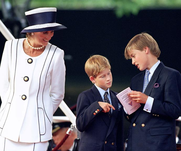 Harry and William were undoubtedly affected by their parents' separation in 1992 and subsequent divorce in 1996, but they maintained a close relationship with both parents. For her part, Diana worked hard to give her sons as normal a childhood as possible, including trips to McDonald's!