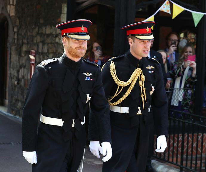 Despite William's supposed reservations about Meghan, he stood by Harry's side as best man at Harry and Meghan's 2018 royal wedding. The brothers' relationship was still strained though, with reports that a misunderstanding between Meghan and Kate during wedding planning had spilled over into Harry and William's relationship. <br><br> It was reported at the time that Meghan had made Kate cry at a dress fitting, but Meghan later claimed it was the other way around - and she was the one in tears - during her and Harry's 2020 Oprah interview.