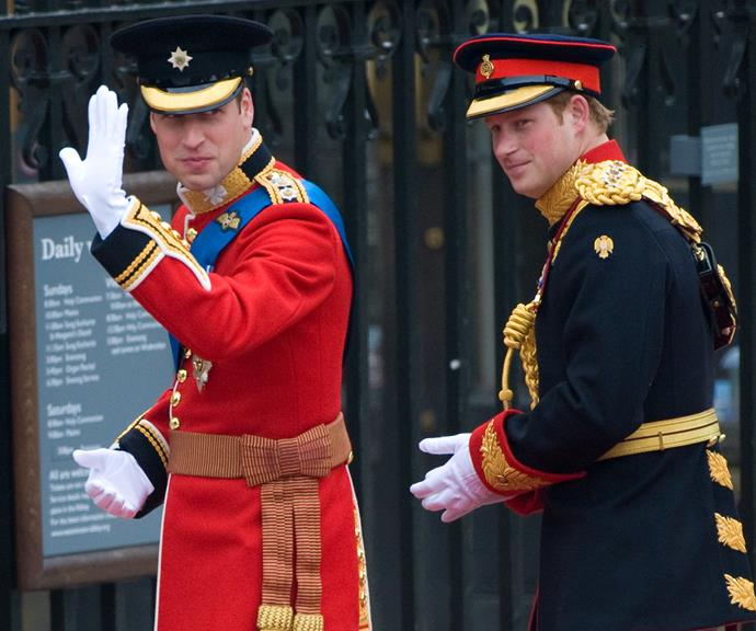 """In 2011 Harry stood proudly at his brother's side as William said """"I do"""" in the royal wedding of the century. He and Kate Middleton married at Westminster Abbey after years of dating, and Harry is said to have been thrilled for his older brother.  <br><br> It helped that the younger prince had formed a close relationship with his new sister-in-law during Kate's years dating William and getting to know the royal family."""