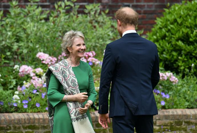 Julia Samuel is godmother to Prince George.