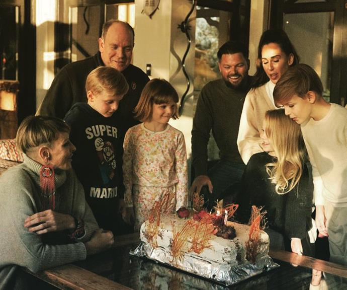 The royals also spend time with their wider families. In June, Charlene and Albert took their children to South Africa to visit Charlene's brother, Sean Wittstock, and his family for his daughter Aiva-Grace's birthday, who was turning five.
