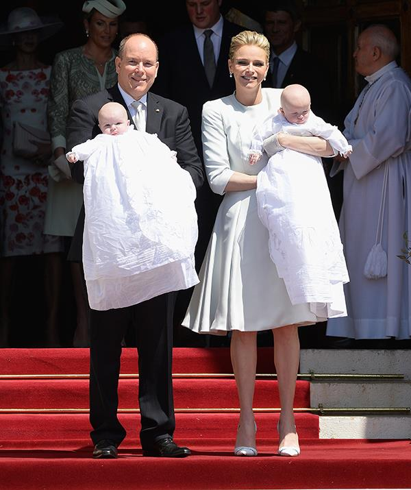 The royal children were presented to the Monegasque people for the first time on January 7, 2015, much to the delight of the public. They were later baptised at the Saint Nicholas Cathedral, Monaco on May 10, 2015 and their parents couldn't have looked prouder.