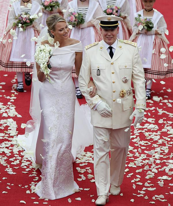 """South African swimmer Charlene Wittstock became [Princess Charlene of Monaco](https://www.nowtolove.com.au/tags/charlene-princess-of-monaco