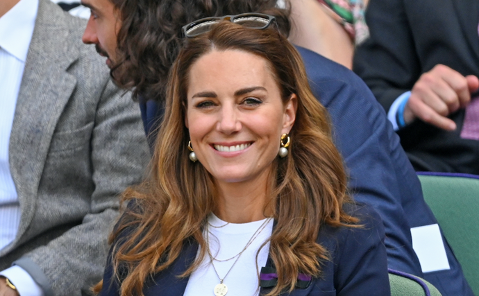 One question: How can we all get Kate's flawless skin? She's glowing!