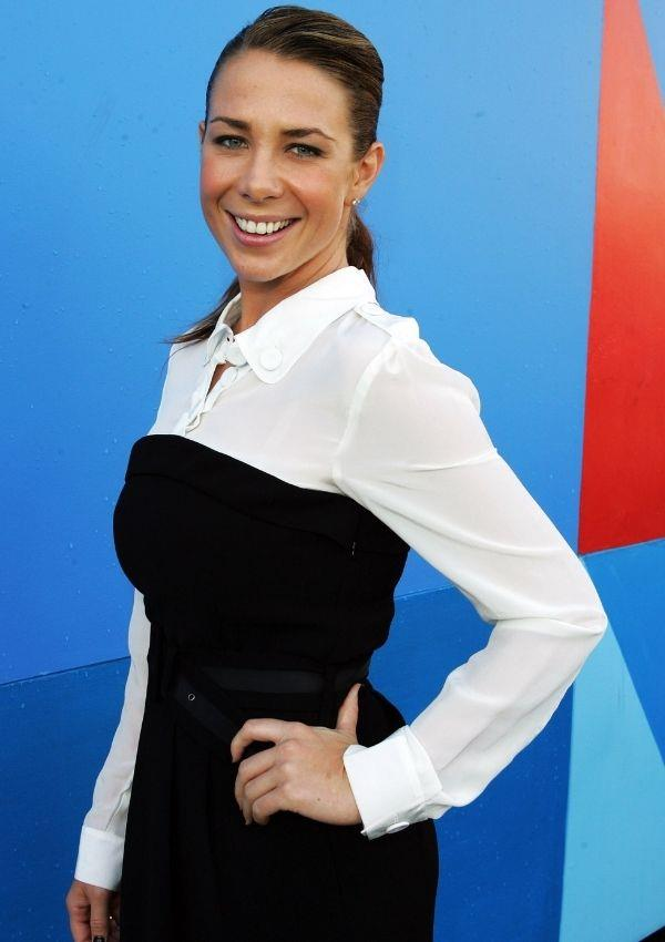**Kate Ritchie, 2008** <br><br> Over the past year, it's been a fashion lovers armour to layer a white shirt under a black strapless top or bodice. Kate was simply ahead of the game with this look.