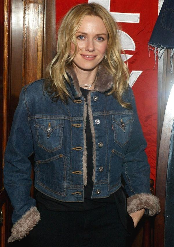 **Naomi Watts, 2005** <br><br> The fur-trimmed denim jacket that Naomi wore to Levi's Ranch in Park City is an aesthetic that has propelled itself back into the mainstream.