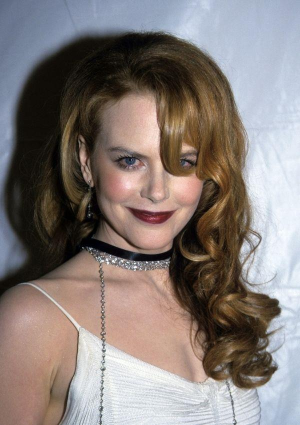 **Nicole Kidman, 2001** <br><br> Nicole was still taking cues from the grunginess of the late 90s when she styled two chokers with a longer necklace. This undone aesthetic encapsulates a time when movie premiers weren't huge occasions - here Nicole was promoting Moulin Rouge.