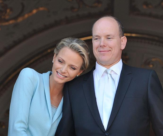 Princess Charlene and Prince Albert announced their engagement in 2010.