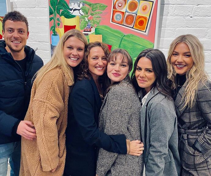 """Lynne isn't the only Home And Away cast mate Courtney shares a cute friendship with either. A whole host of Summer Bay regulars showed up for the 26-year-old's art show in June, many sharing snaps from the event. <br><br> [Georgie Parker](https://www.nowtolove.com.au/tags/georgie-parker