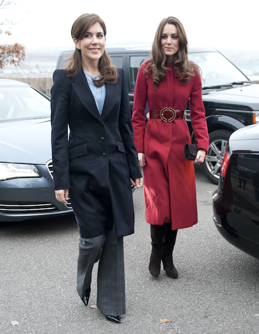 Crown Princess Mary and Duchess Catherine will only *just* miss the chance to reunite this week.
