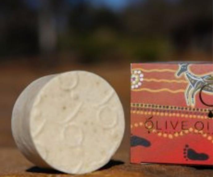 Pure Olive Oil Soap with Gidyea, $15 by Native Secrets can be [found here.](https://nativesecrets.com.au/product/pure-olive-oil-soap-with-gidyea/)