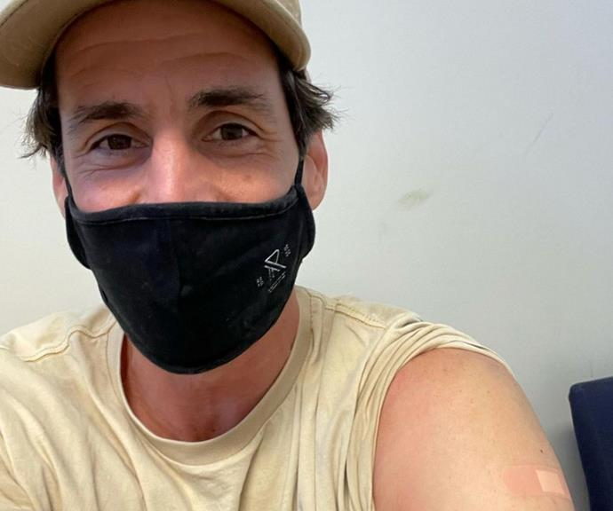 """**Andy Lee** <br><br> Andy Lee used his Instagram post to discuss his choice to vaccinate himself and why it's important to seek advice to make the right choice.  <br><br> He wrote, """"Got AZ 💉 Spoke to my doctor beforehand and it was his recommendation. I know this approach is not for everyone so seek your own advice and take whatever path you feel is right for you. Disappointed not to get a lollipop at the end 🍭 (only negative)."""""""