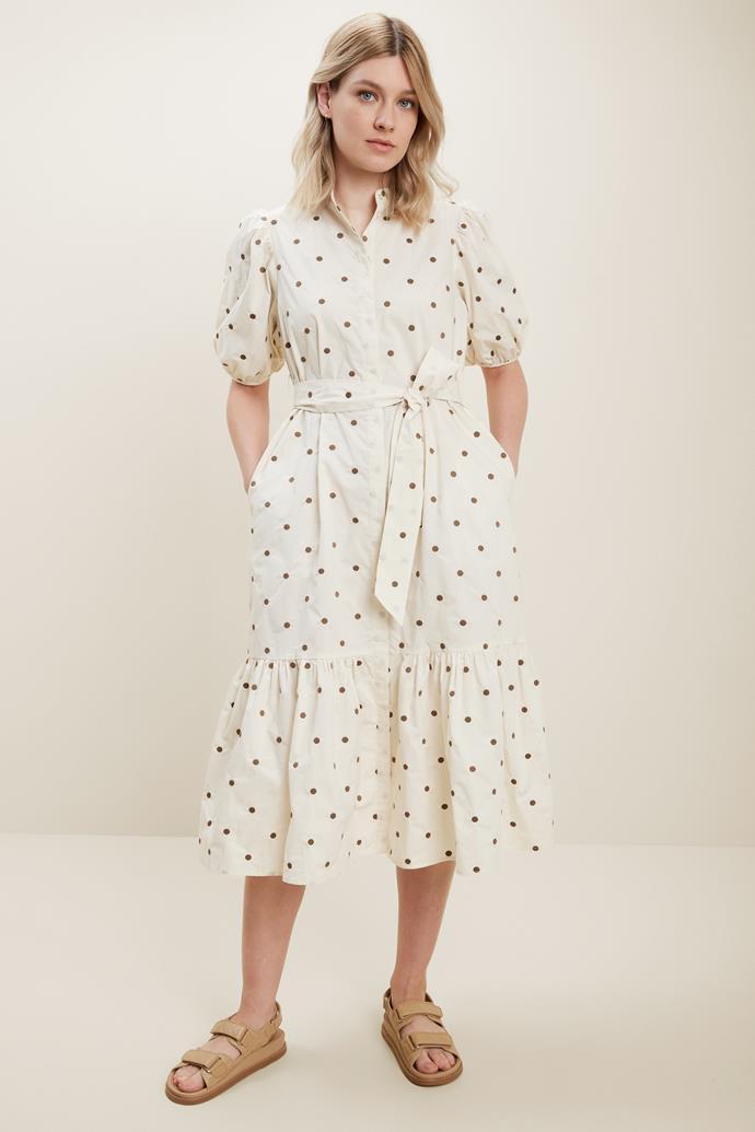 "Seed Spot Shirt Dress, $69.95. [Buy it online here](https://www.seedheritage.com/p/spot-shirt-dress/3085184-464-06-se.html target=""_blank"" rel=""nofollow"")"