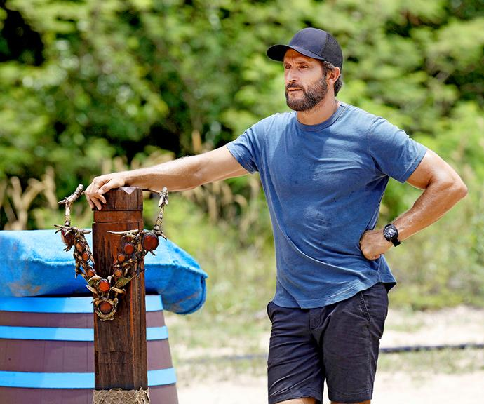 For the two months Jonathan spent filming Australian Survivor 2021, he didn't get a lot of down time.