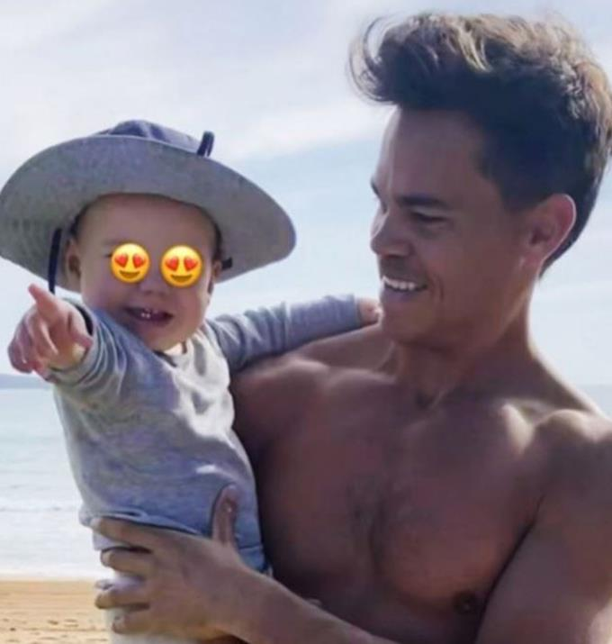 A hot guy with a baby, what more can you ask for?