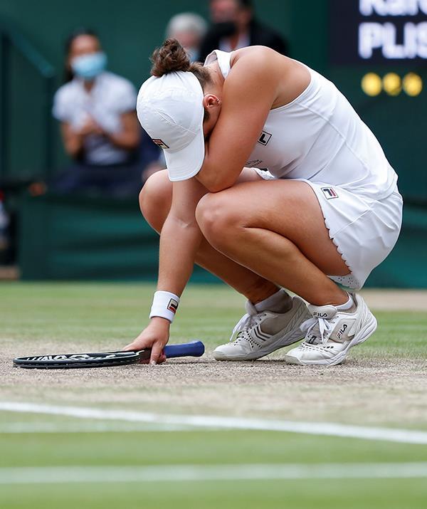 Ash broke down in tears at her incredible victory.