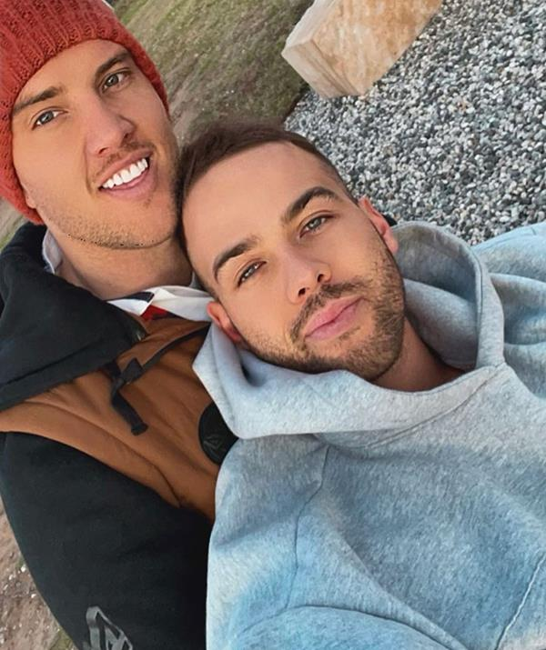 Liam and Samuel debuted their relationship with a sweet couple's photo.