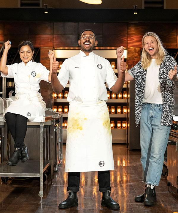 It was a nail-biting grand final episode on MasterChef.