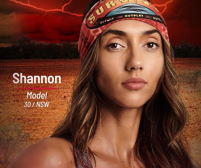 """**Shannon** <br><br> """"I'm a hustler, they're not going to see what's coming,"""" said influencer Shannon, who will join the Brawn tribe. """"I am a beast."""" <br><br> A full-time model and health and fitness advocate, Shannon isn't just a pretty face - she's also a trained dancer and boxing instructor, skills that will give her an edge on Survivor."""