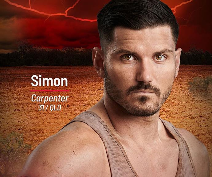 **Simon** <br><br> Simon is a carpenter joining the Brawn tribe in 2021, but it's his past as a former body builder that's likely to help him in the brutal *Survivor* challengers.