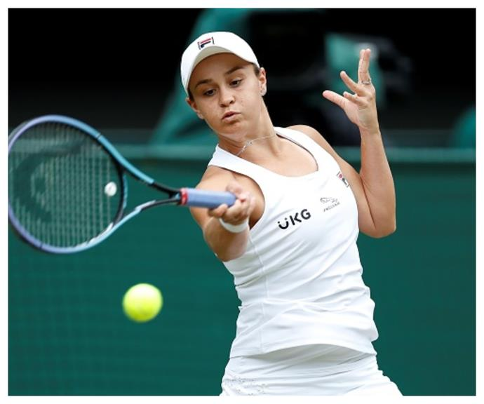 """""""It's a beautiful game and it's a privilege to play it."""" Ash on her love of tennis."""