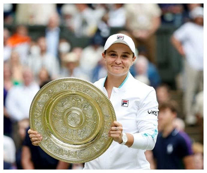 """""""Ash is a superstar – the best in the world – but she's a great person too and that's a big part of her appeal."""" - Tennis Australia CEO Craig Tiley."""