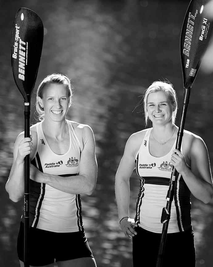 """**Jo Brigden-Jones & Aly Bull** <br><br>  *Frontline kayakers.* As a paramedic and firefighter, Jo Brigden-Jones and Aly Bull were already heroes to thousands of Australians, but their selection to our Tokyo Olympic paddling team has made them legends twice over.  <br><br>  The kayaking duo will compete in two events each at their second Olympic Games: Jo in the K4 500m and K2 500m, and Aly in the K2 500m and K1 500m. <br><br>  While most Olympic hopefuls spent early 2020 just trying to keep their training on track during lockdown, Jo was on the frontline of Australia's fight against COVID-19 as a paramedic with NSW Ambulance Service. Aly and her colleagues at the Queensland Fire Service, meanwhile, were reeling from the aftershocks of a horror bushfire season.  <br><br>  It may have been a juggle for the women to combine their training with the intensity of their full-time jobs, but both are quick to acknowledge the cross-over benefits in their dual roles. <br><br>  """"In both, you need a clear mindset and an intense focus on what you're doing,"""" says Jo, 33. """"You need to be able to perform under pressure and work as a team."""" <br><br>  Aly agrees. """"Teamwork is a massive cross-over,"""" she says.  <br><br>  """"In kayaking, you have to have complete trust and faith in what your partner is doing. It's the same with firefighting. When you go into a burning house, you have to rely on the other person to watch your back. And you have to have the courage and determination to keep going and always give it your best."""""""