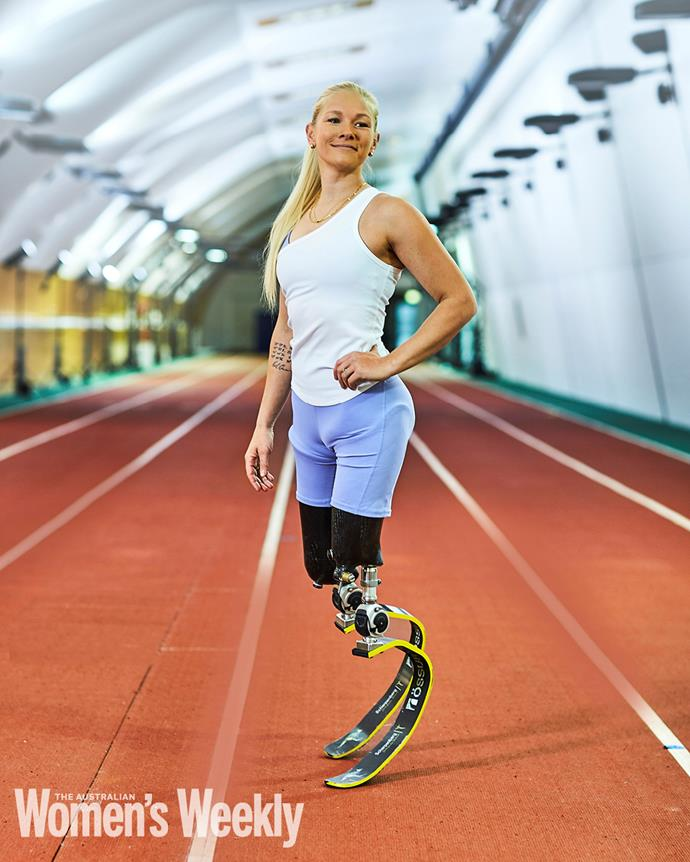 """**VANESSA LOW**  <br><br> *Leap of faith.* <br><br> It is just three months out from the Tokyo Paralympic Games and Vanessa Low, the long-jump legend, is coming off a week of bed rest in the Canberra home she shares with her Paralympian husband Scott Reardon.  <br><br> """"I do all this sport and training without getting injured – and then I go and fall over on the way to the toilet,"""" the 30-year-old says ruefully.  <br><br> Yet the Rio gold medallist and reigning world champion  is pragmatic about the setback.  <br><br> """"Obviously I would like to be training at 100 per cent before I go, but I have learned over the years that life changes happen and you just have to adapt and accept things as they are."""" <br><br> Vanessa knows what she is talking about: she was just a month shy of her 16th birthday when she stumbled on a railway platform in her hometown of Ratzeburg, Germany, and fell into the path of an oncoming train.  <br><br> Two weeks later, she woke from a coma to discover that both her legs had been amputated above the knee. Before the accident, Vanessa would have believed she'd rather die than live that way. Afterwards, she discovered the """"beauty within the change"""". <br><br> """"We grow into any situation,"""" she says.  <br><br> """"You just have to find the new opportunities. Getting involved in sport was a big turning point for me. Through it, I have got to live in three continents, travelled to 60 countries and got to know so many amazing people."""" <br><br> Chief among them is Scott, Australia's 31-year-old Paralympic hero, who lost the lower half of one leg in a farming accident as a youth. The couple met in 2013 in London, while waiting for the medal ceremony at the Anniversary Games, and dated long-distance while Vanessa trained in the United States and Scott in Australia. Since their marriage in 2018, they have lived in Canberra, training together under the watchful eye of Ukrainian coach Iryna Dvoskina. <br><br> """"So we have gone from one extreme to the other – fr"""