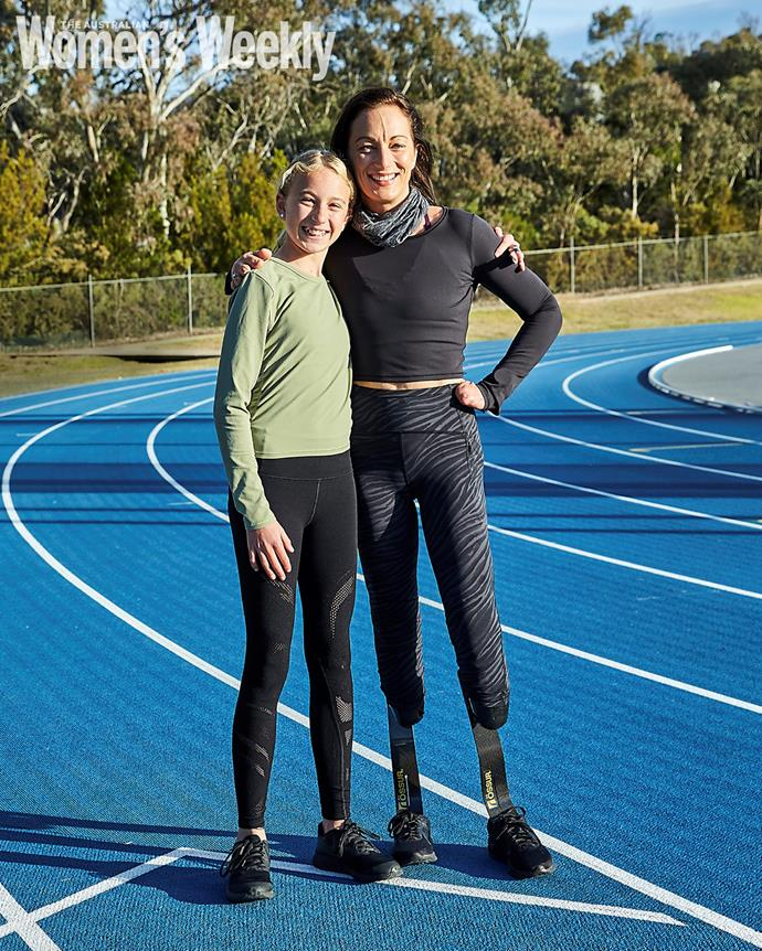 """**ELIZA AULT-CONNELL**  <br><br> It was a throw-away line from her daughter that put Eliza Ault-Connell back on track to Olympic glory.  <br><br> The wheelchair racer, then 34, was watching the 2016 Rio Paralympic Games on television with her three young children, when daughter Eva remarked, """"So that's what you used to do, Mum. Wow, you used to be so cool."""" <br><br> Eliza (whose identity as an elite athlete had been subsumed by her role as mother since halting her career in 2008 to start a family with Australian Paralympic gold medallist Kieran Ault-Connell) realised two fundamental truths.  <br><br> First, she could be both a mother and a competitor. And second, her daughter did not, at that point, find her cool. Almost five years of intense training later, Eliza will be on the start line in Tokyo for the 100m, 400m and marathon wheelchair events, watched on by her very own cheer squad: Eva, 12, Elka, 10, and Jensen, 9.  <br><br> """"As mothers, everything we do is for our children,"""" says Eliza, who had both legs amputated above the knee as a teenager after contracting meningococcal disease.  <br><br> """"What I have learned in recent years is that it is OK to have children and to still want to do stuff for yourself."""" <br><br> When she hits the track in Tokyo, it will be 17 years since Eliza last represented Australia at a Paralympics, but it may not be the last time. Despite her looming 40th birthday, Eliza has no plans to retire.  <br><br> On the contrary, she has her eyes fixed on such far-off horizons as the 2028 Los Angeles Games. Eva, who also trains at the Australian Institute of Sport, suggested that they work towards competing there as mother and daughter. <br><br> """"I thought to myself, 'Dang, I will be old',"""" laughs Eliza.  <br><br> """"But I see no reason why we can't - as long as my body and mind continue to hold up."""""""