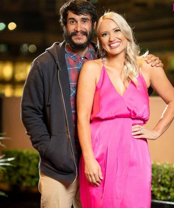 Keiran's reality TV debut didn't stray far from his natural aesthetic, but the red and blue upgraded button up was the perfect addition to his look.