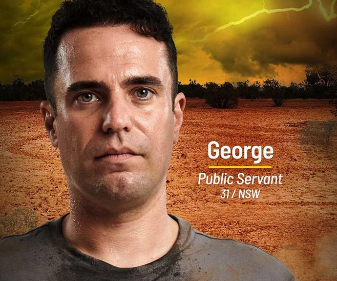 """**George** <br><br> """"I'll let the audience decide if I'm the hero, or the villain,"""" said George, who will be joining the Brains Tribe. <br><br> He's ready to pull anyone's strings on the show and hopes to get ahead with strategy and intellect, a few skills he picked up at work as a """"faceless man"""" in the Labor Party. <br><br> He may think he's the smartest person in the room, but *Australian Survivor* is sure to put his brains to the test."""