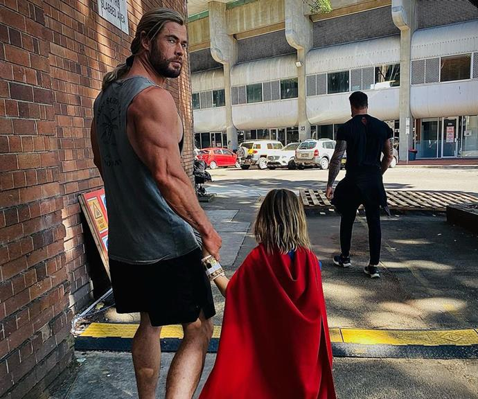 """**Chris Hemsworth and Elsa Pataky**  <br><br>  The Aussie acting heavyweight and his wife may share snaps of their kids online pretty regularly, but they're always careful to keep their children's faces obscured. [Marvel star Chris](https://www.nowtolove.com.au/tags/chris-hemsworth