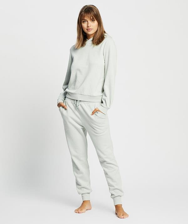 """**Gingerlilly Anika lounge set ($119.95)** <br><br> Lockdown means lounge wear, and even Aussies who aren't currently in lockdown can appreciate a cosy matching set during winter. This Gingerlilly matching hoodie and sweats set perfectly blends the comfy and the chic and will even be Zoom-meeting-appropriate for those of us working from home. [Shop it here.](https://fave.co/3yKRolY