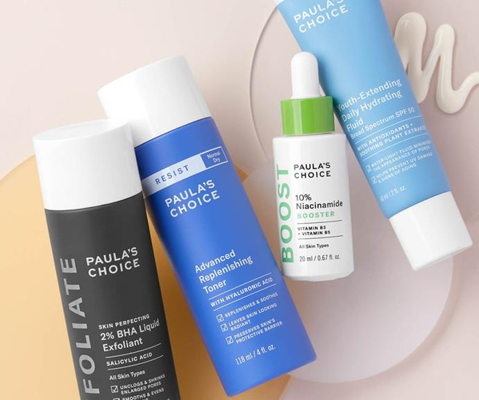 """**Paula's Choice skincare** <br><br> Being stuck inside and not wearing makeup gives you extra time to focus on your skin, so now is a great time to invest in new, high quality skincare. Hydration is essential during winter, especially if you crank up the heating, so [Paula's Choice Advanced Replenishing Toner](https://fave.co/3m71c6e