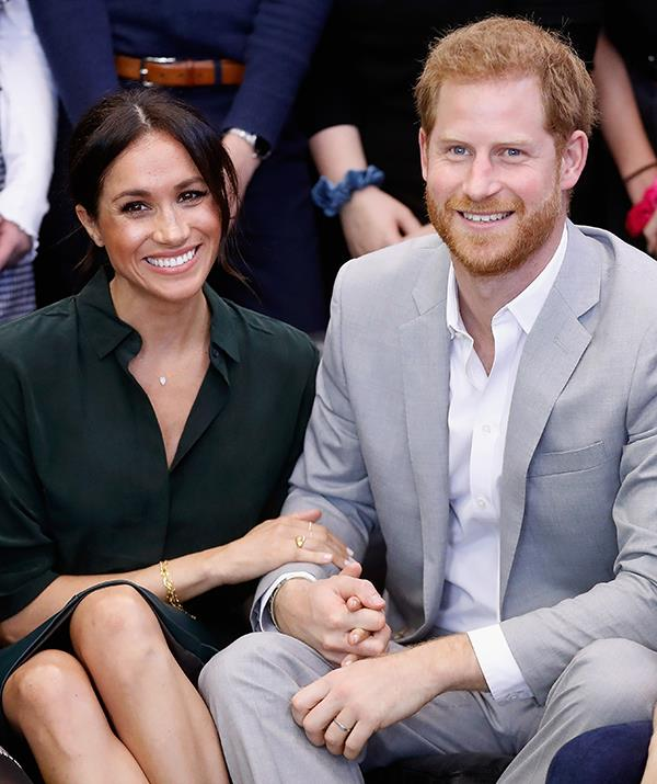 Harry and Meghan recently welcomed a daughter, and their Oprah interview is up for an Emmy.