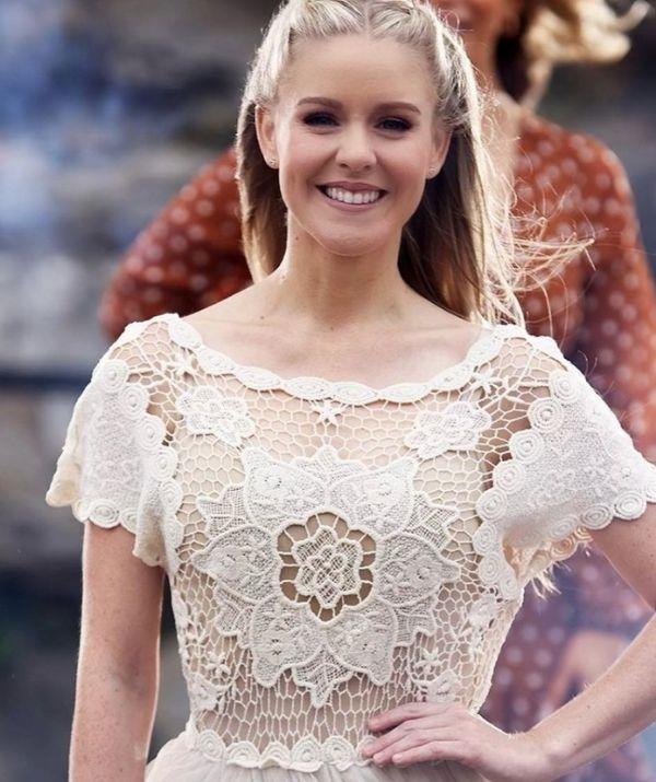 **Ashleigh - as seen on Beauty and the Geek**  <br><br> The Disney-loving performer wore this crochet dress for her appearance on the show, and its unique design helped her stand out.