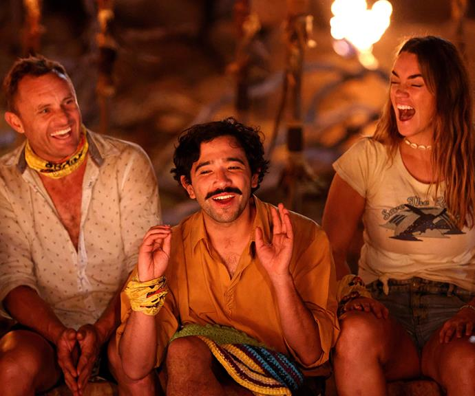 They may be smiling here, but Phil says the tribal council was incredibly tense after George's shock play.