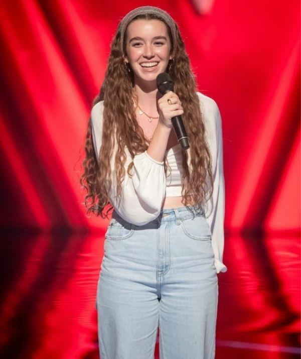**Sian Fuller, 16** <br><br> The teenager had only intended to support her brother, but she ended up stepping onto the stage to test her fate after talking with the show's host Sonia Kruger. <br><br> But will she impress the judges, too?