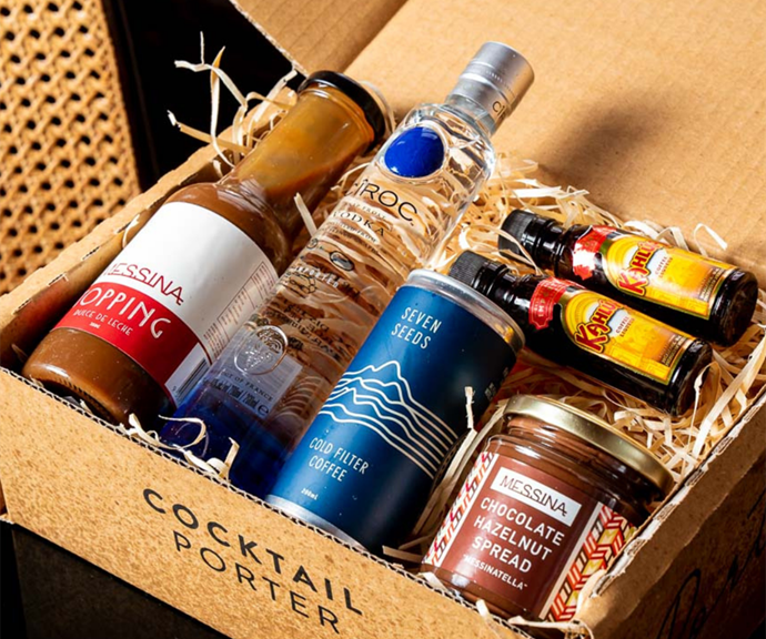 """**Messina Dulce De Leche Espresso Martini Cocktail Kit - [shop it here](https://cocktailporter.com.au/collections/cocktail-kits/products/messina-dulce-de-leche-espresso-martini-cocktail-kit target=""""_blank"""" rel=""""nofollow"""")** <br><br> Hearing the words """"Messina"""" and """"espresso martini"""" in the same sentence has our mouths watering already.  <br><br> This easy kit from Cocktail Porter comes with the lot: Ketel One Vodka, coffee liqueur, premium cold drip coffee, and most importantly Messina's Dulce De Leche Topping, and Chocolate Hazelnut Spread. YUM. Shop it on the Cocktail Porter site starting from $85. You can also shop the Cocktail Porter range through [the Dan Murphy's website.](https://www.danmurphys.com.au/search?searchTerm=cocktail-porter target=""""_blank"""" rel=""""nofollow"""")"""